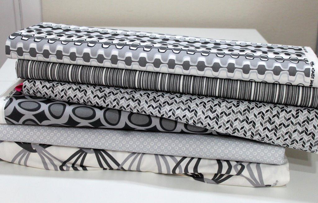 The Daisy Janie Shades of Grey Organics Challenge – east bay ... : modern quilting fabrics - Adamdwight.com