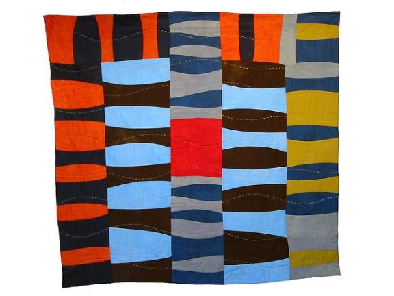 Color Study: Log Cabin ~ 2001, by Sherri Lynn Wood