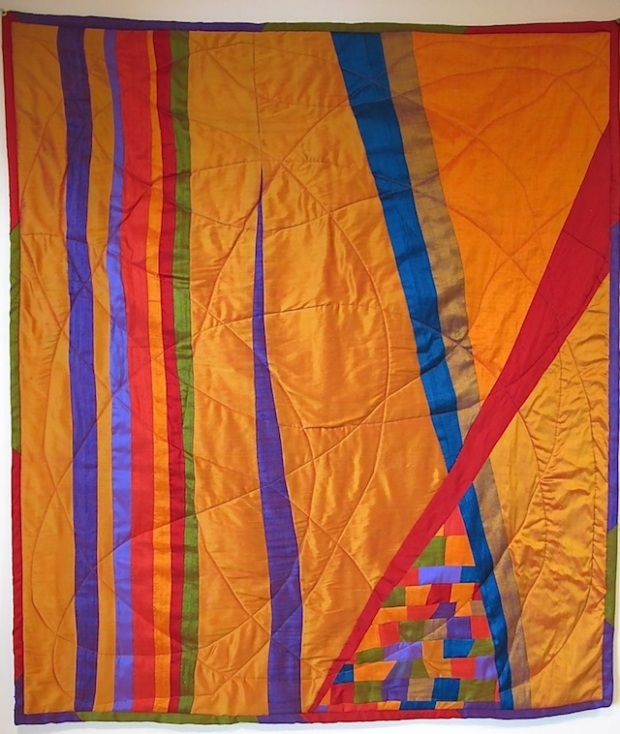 Carol van Zandt's first quilt.
