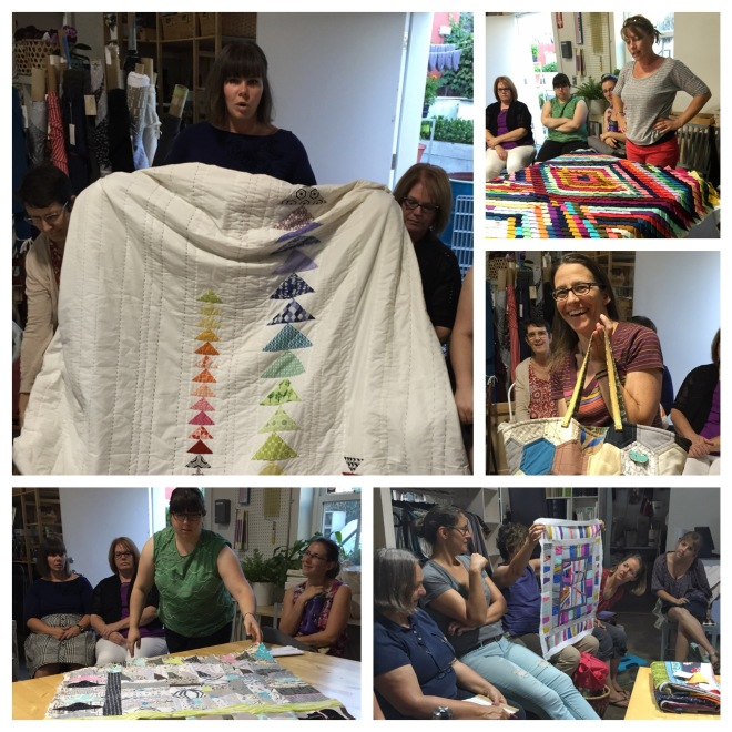 East Bay Modern Quilters July Meeting